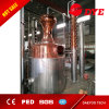 alcohol ilegal de cobre del equipo de la destilación del alcohol del hogar del alambique 300gallon