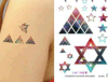 Tatuaje temporal impermeable del arte de las etiquetas engomadas del tatuaje de la carrocería de moda