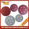 7 인치 - 고품질 최고 가격 알루미늄 산화물 벨크로 모래로 덮는 디스크