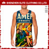 Venda por atacado Custom Sublimation Printed 100 Polyester Vest (ELTMBJ-364)