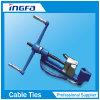 Ferramenta de cinta de amarração de metal de aço inoxidável