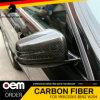 Il bastone dell'ala del portello della fibra del carbonio sullo specchio ricopre 2 PCS per il benz W204 W211 Ml350 2010+ di Mercedes