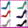2015 europeu Style Sexy High Heel Shoes/Bridemaid Shoes Latest Design Fashion Shoes para Women (H-5423)