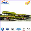 70tons販売のための重い掘削機の交通機関の低い平面トレーラー