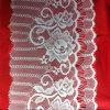 Fita de nylon do laço da pestana do Spandex para roupa interiores e vestidos de casamento