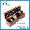 Boîte à verrouillage en bois de haute qualité personnalisée avec logo