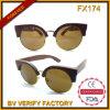 Occhiali da sole di legno di alta qualità popolare Fx174