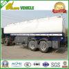 半3axle 45000litersの炭素鋼の燃料のディーゼル油のタンカーのトレーラー