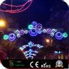 Luzes da esfera do motivo da rua do diodo emissor de luz do Natal