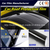 Pellicola protettiva dell'alto tetto nero lucido dell'automobile, pellicola del vinile dell'involucro dell'automobile, pellicola del tetto dell'automobile 3 strati