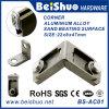 Sustentação 22X8X47mm do suporte de ângulo da cinta do canto da liga de alumínio