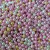 Смешанные стеклянные бусины перлы
