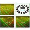 Verde vermelho Ln500 da lente da cortina 32 do laser do projetor do laser do disco