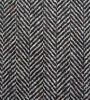 Tissu de laine en tissu de laine à chevrons