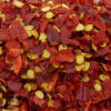 Floco secado novo do pimentão