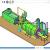 La plastica di pirolisi per lubrificare la macchina ricicla la plastica ad olio combustibile