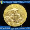 2017 مصنع إنتاج نوع ذهب معدن تذكار عملة
