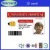 Carte de conception de PVC d'étudiant d'identification d'identification personnalisée de carte/employés