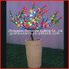 Idée spécial pour la décoration Accueil fleur avec le pot d'éclairage à LED