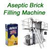 Machine de remplissage de jus aseptique automatisée en brique en forme