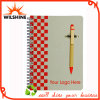 Buena Notebook Encuadernación papel de calidad con la pluma de papel (SNB109)