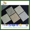 Pedra artificial branca de superfície contínua de quartzo para a bancada da cozinha (YQZ-QS1010)
