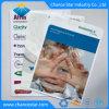 De PP promocional impresso personalizado L Shape pasta plástica