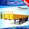 2 de superficie plana de carga a granel contenedor de los ejes de la pared lateral remolques