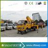 16m Rhd Izquierda de trabajo de la antena de camión con plataforma