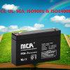 Bateria recarregável 7ah de 6 volts de 6 baterias do volt
