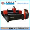 machine de découpage en métal de laser de la fibre 400150 500W personnalisée