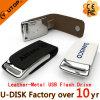 형식 주문 로고 금속 가죽 USB 섬광 드라이브 2/4/8/16/32/64GB