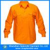 Camicia lunga arancione del manicotto del lavoro di sicurezza delle camice del nuovo modello
