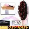 Electrónica de cerámica plancha de cabello peine el cabello liso peine eléctrico