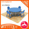 CE Certificated Plastic Desk Plastic Furniture Set para Kid