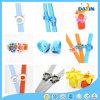 Красочный стиль нескольких детей силиконового герметика бить часы