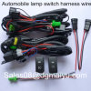 12V 40A Work LED HID Work Fog Light Bar Wiring Harness Kitオン/オフSwitch Relay
