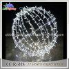 Feiertags-Beleuchtung des Weihnachtsdekorative weiße Kugel-Zeichenkette-Licht-LED