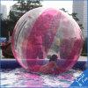 Diámetro de la bola los 2m del agua de la bola de Zorb del agua que recorre con Alemania Tizip y material TPU1.0mm