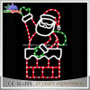 24 V Santa Claus Carry Gifts Box Lights com controlador