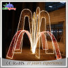 Outdoor Garden Christmas Dancing Waterproof Fountain Decoration LED Light