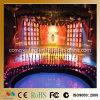 pared colgante de interior del vídeo de la visualización LED de la cortina del alquiler P4.81 de 500mmx500m m