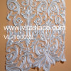 Flat Embroidery Wedding Lace Fabric Manufacture Vl-100033