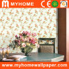 White decorativo Wall Paper com Modern Design