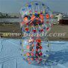 Una bola colorida más barata D5012 de la burbuja del fútbol del PVC de los puntos