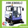 Cabine Tous Fermé Electric Road Street Ride sur Sweeper machine