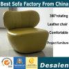 Sofa en cuir moderne de maison et de bureau de meubles réglé (C1708)