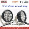 4X4 Offroad LEIDENE van de Lamp 7inch van de Vlek van de Auto Lichten van het Werk voor ATV/Tractor/Truck/Boat (GT1015-128W)