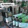 Larga vida de servicio pegamento caliente sobre el papel de la máquina de etiquetado