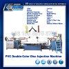 Disco de cores duplo de PVC máquina de injeção